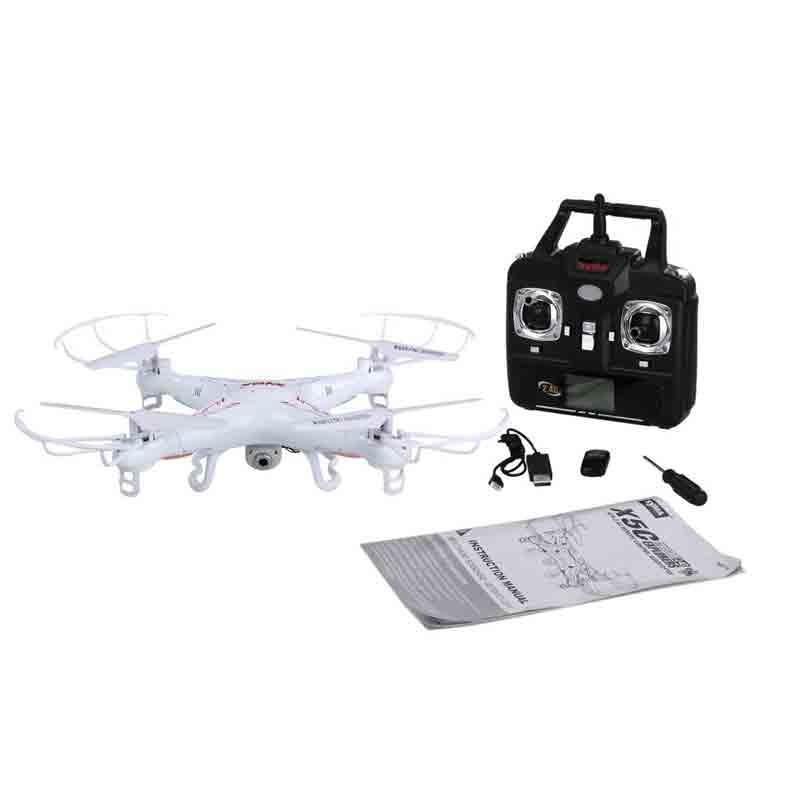 Comprar drones Syma X5C Explorers contenido caja